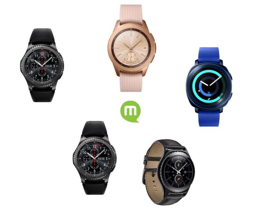 Comparatif des meilleures montres connectées Samsung