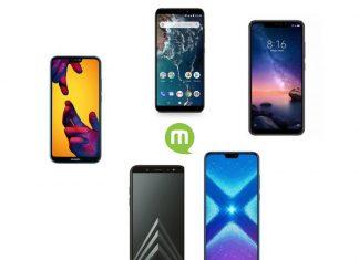 Top 5 smartphones moins de 250 euros