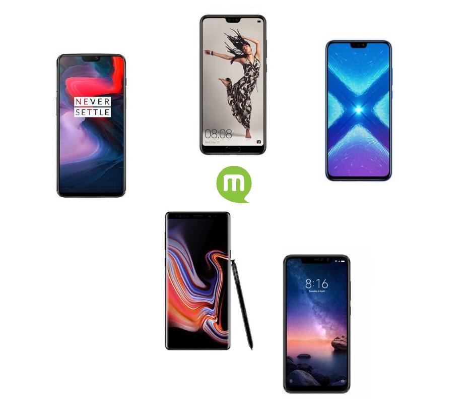 Black Friday : notre sélection de 5 smartphones à acheter pendant le Black Friday