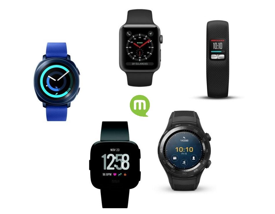 Black Friday 2018 : notre sélection de 5 smartwatch à acheter
