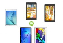 Top 5 tablettes