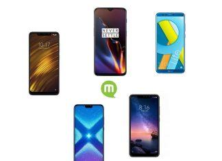 Les 5 smartphones au meilleur rapport qualité/prix