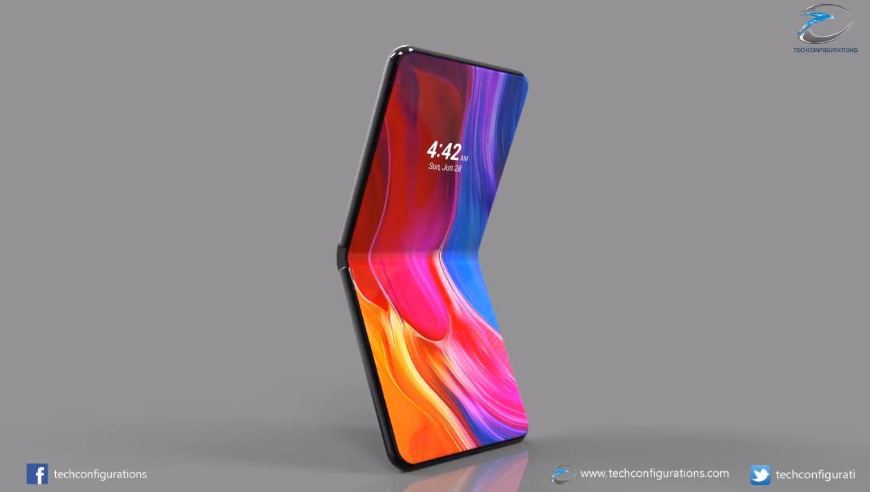 Xiaomi Mi Mix Flex : un smartphone pliable avec deux écrans et trois capteurs photo