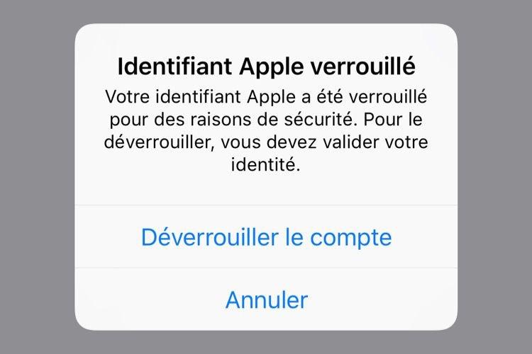 Des comptes Apple de certains utilisateurs d'iPhone bloqués sans raison apparente
