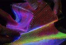 Écran micro LED