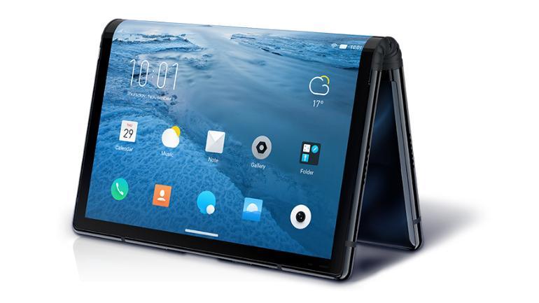 Smartphone pliable : FlexPai devance le Galaxy X de Samsung