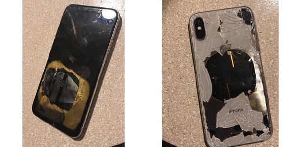 Attention, la mise à jour vers iOS 12.1 a fait exploser cet iPhone X !