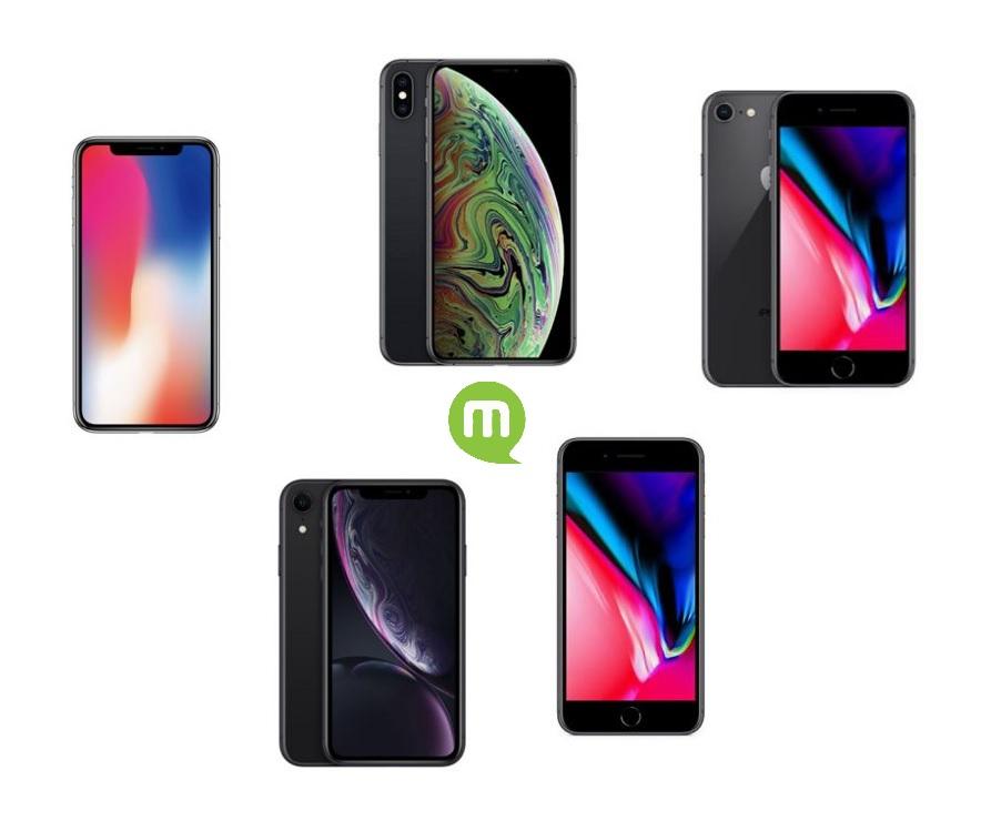 Quel iPhone avec forfait acheter en 2018 ?