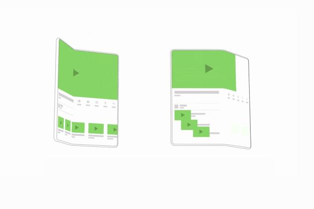 Google dévoile son interface utilisateur Android pour smartphone pliable