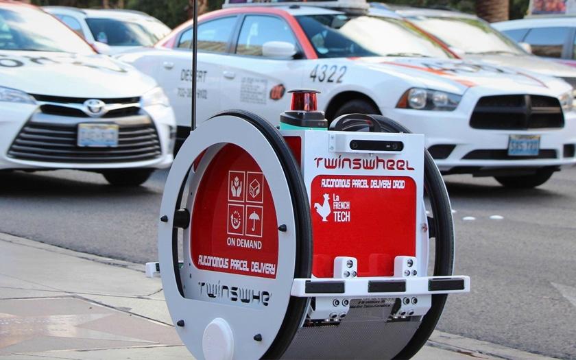 Franprix prévoit de tester le robot de livraison Twinswheel en 2019