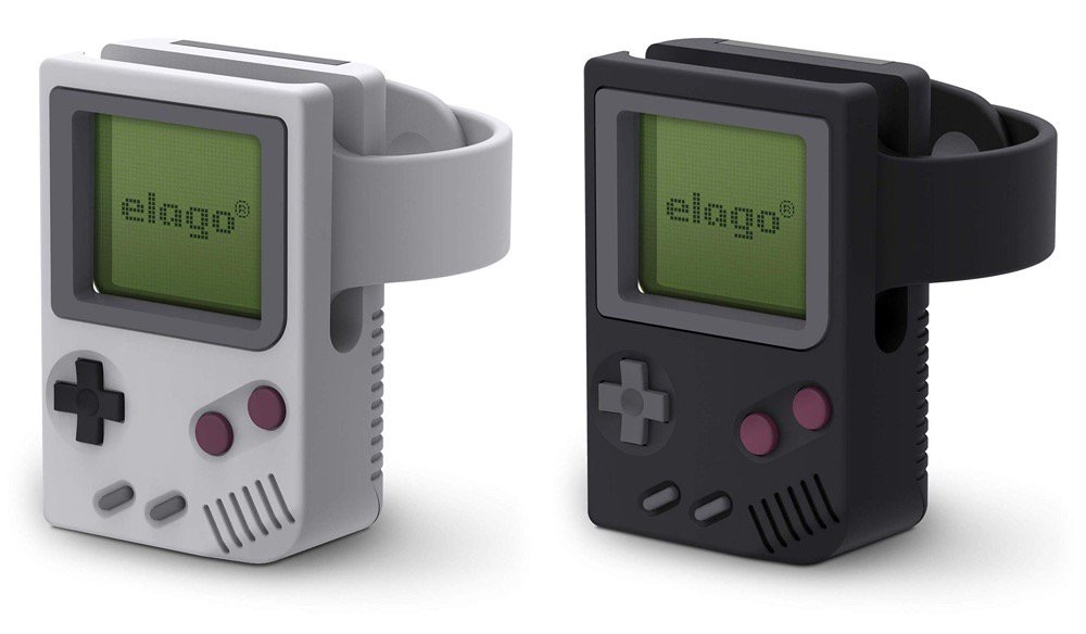 Elago transforme en Game Boy l'Apple Watch
