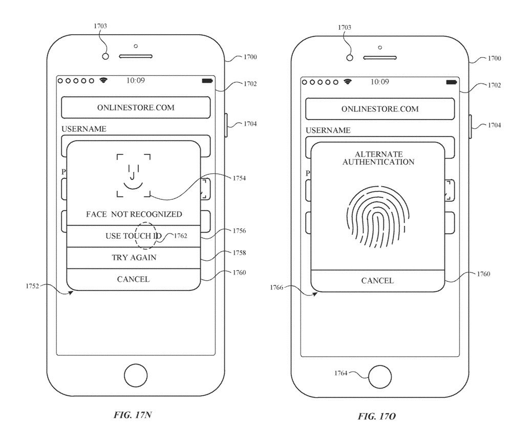 Brevet Face ID Touch ID