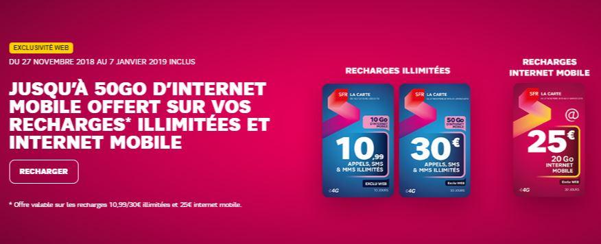 recharger sfr la carte SFR La Carte : une offre carte SIM prépayée séduisante et en promo