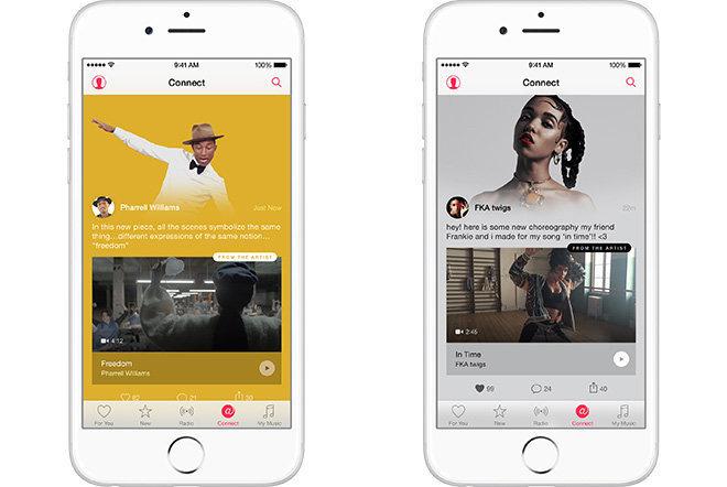 Connect, le réseau social d'Apple Music ferme ses portes