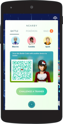 EN A4 BattleCode 214x420 - Pokemon Go : le mode Trainer Battles arrive sur un plateau