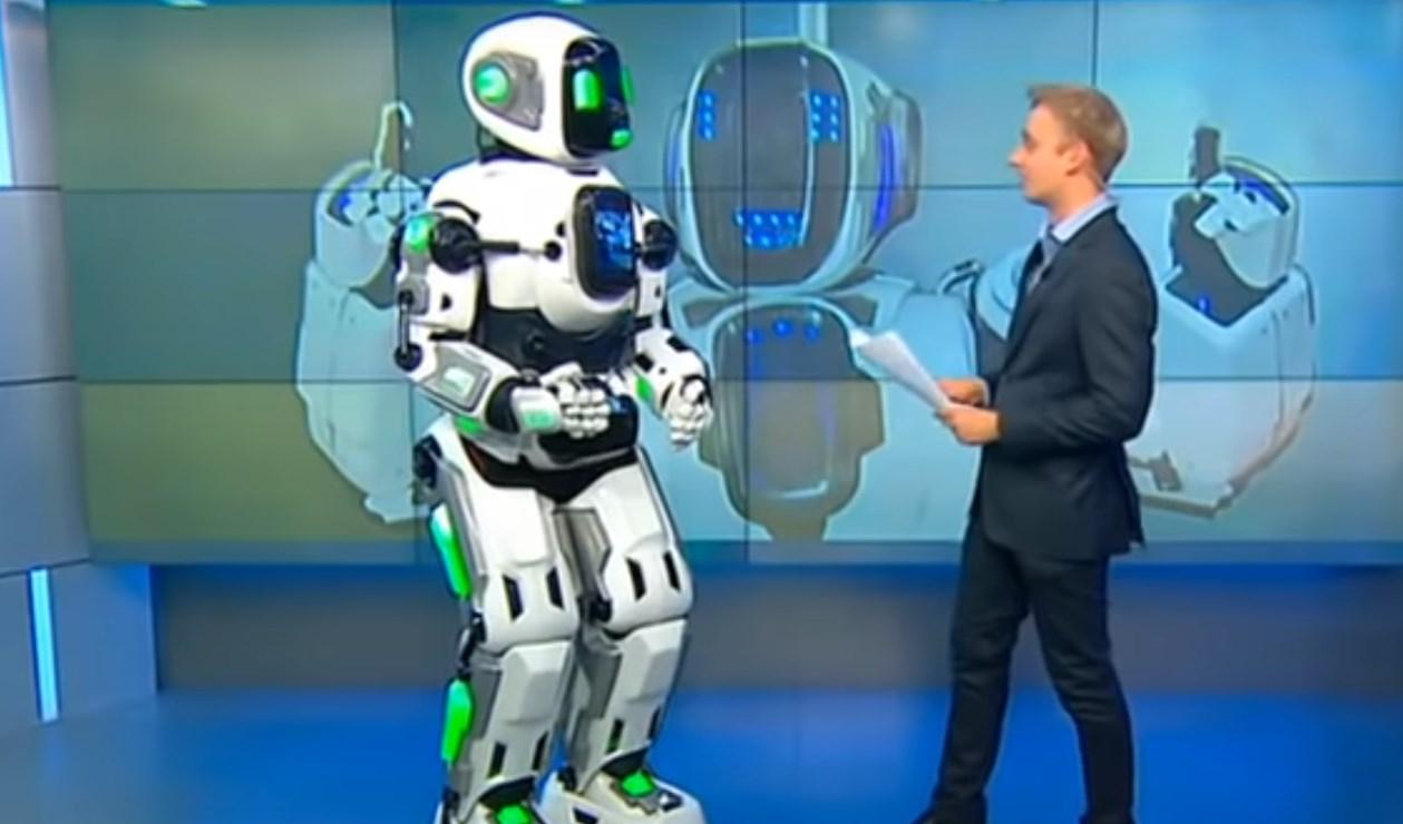 Ce n'est pas un vrai robot !