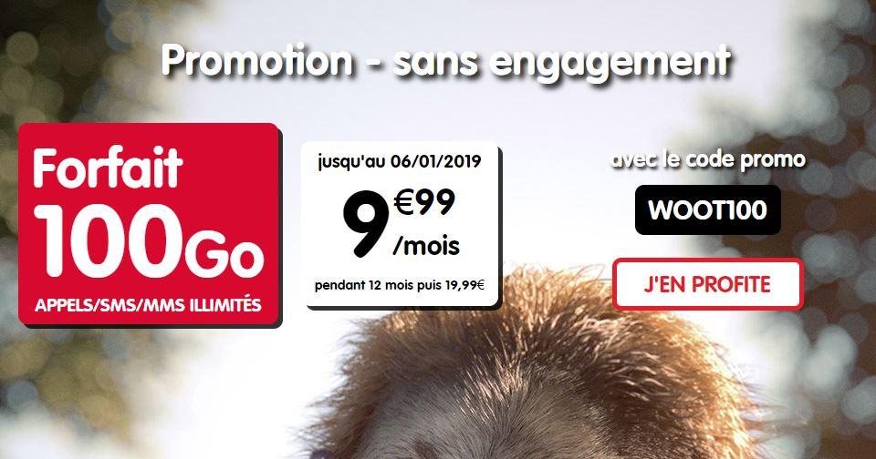 Bon plan : forfait 100 Go de NRJ Mobile à 9.99 euros !