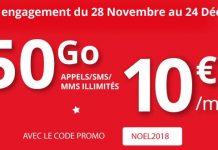 Forfait Auchan Telecom 50 Go en promo