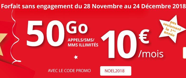 Bon plan : profitez du forfait Auchan Telecom 50 Go à 10 euros !