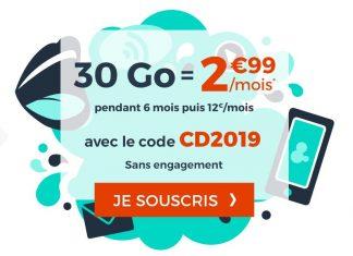 Forfait Cdiscount Mobile 30 Go