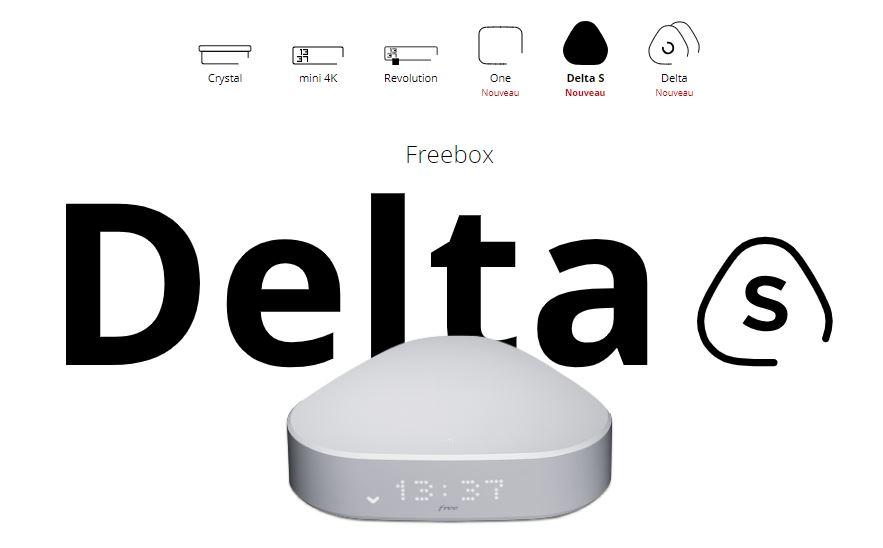 Freebox Delta S : une box à 39.99 euros par mois sans le Player Free Devialet !
