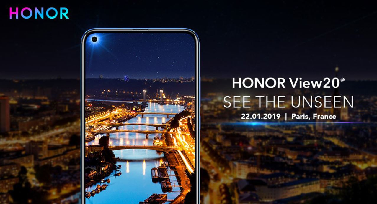 Honor View 20 : écran Full borderless, Kirin 980 et capteur photo de 48 millions de pixels