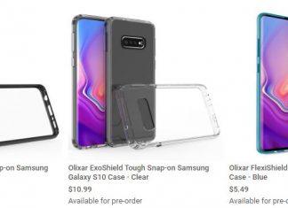 Les coques du Samsung Galaxy S10 chez MobileFun