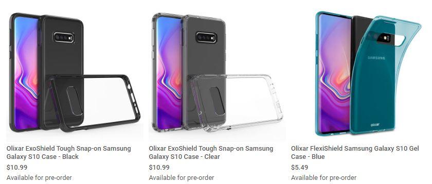 Le design du Samsung Galaxy S10 fuite sur le même site que les Huawei P30