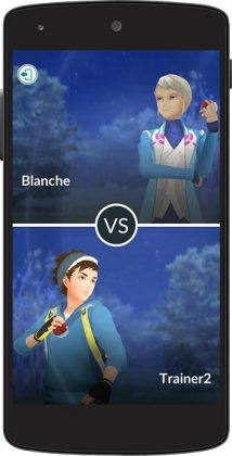 PVP Leader 214x420 - Pokemon Go : le mode Trainer Battles arrive sur un plateau