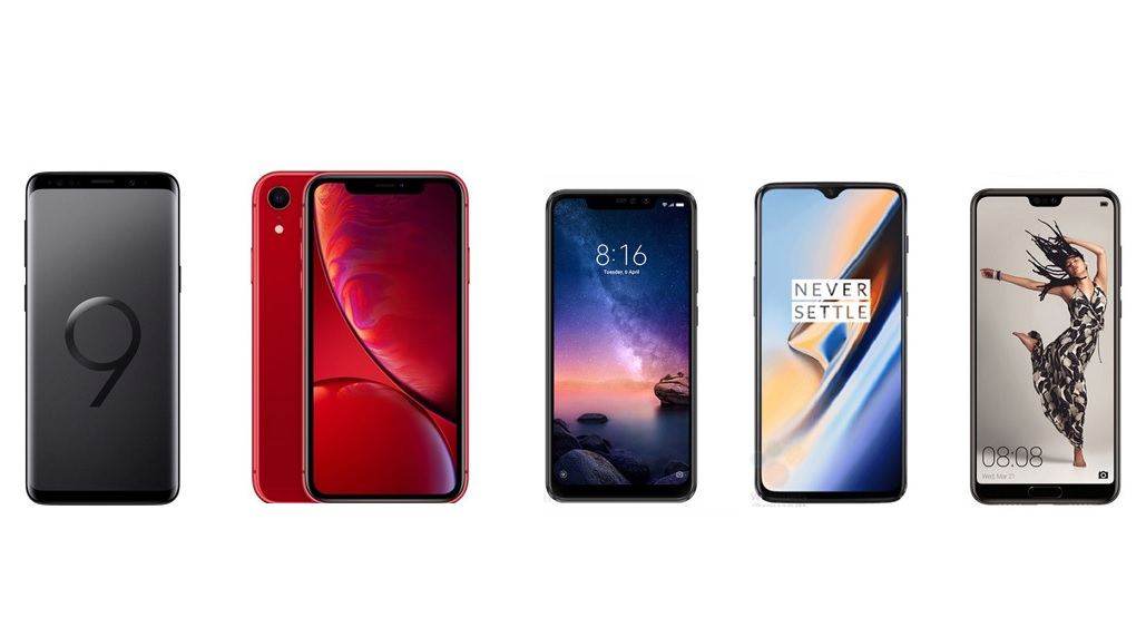 Bon plan : grosses réductions sur les meilleurs smartphones de 2018 chez Rakuten !