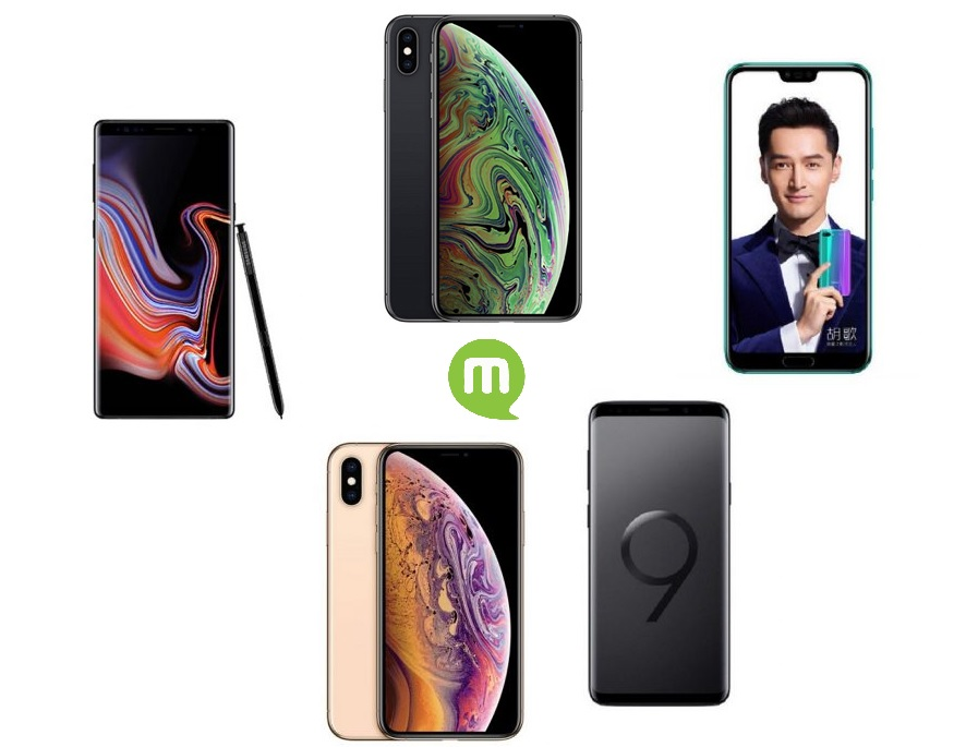 Top 5 des meilleurs smartphones double SIM
