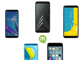 Top 5 smartphones NFC