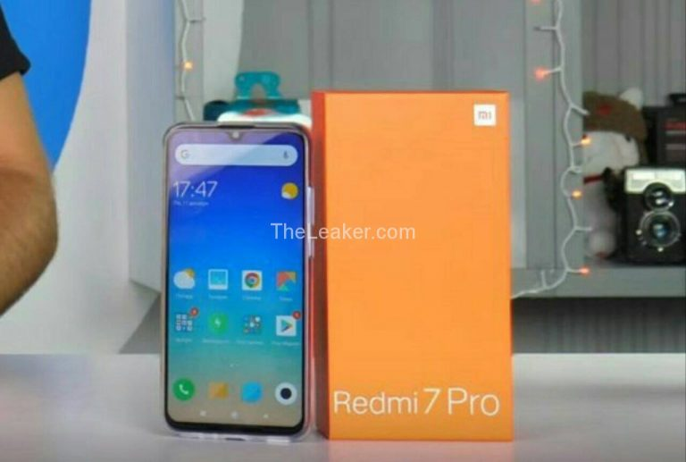 Xiaomi Redmi 7 Pro - Source : The Leaker