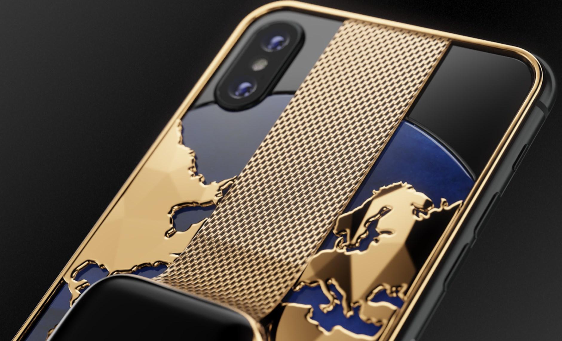 Apple : son iPhone XS Max/Watch pour 21 050$ avec Caviar