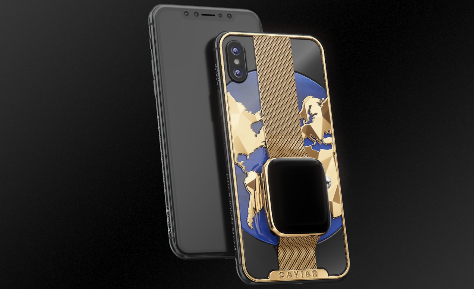 caviar - Apple : son iPhone XS Max/Watch pour 21 050$ avec Caviar