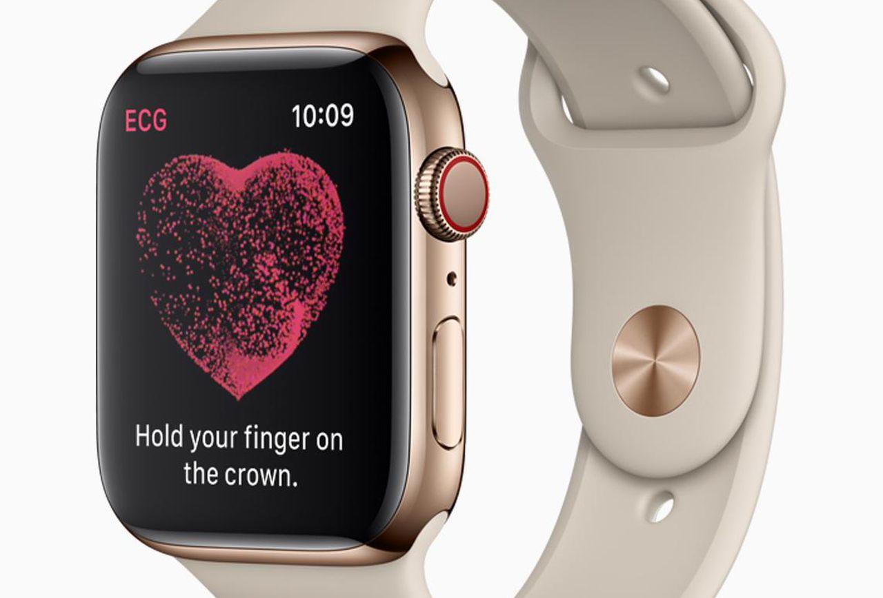 Apple Watch : la fonction ECG arrivera bientôt au Canada