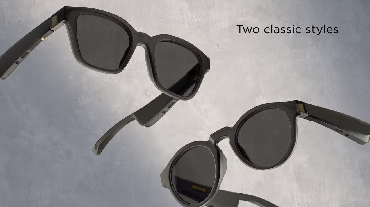 Bose : un haut-parleur intégré sur une paire de lunettes, du jamais vu