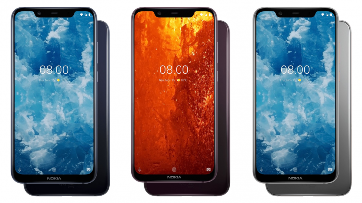 Le Nokia 8.1 est officiel : Android One, Snapdragon 710 et double capteur photo signé Zeiss
