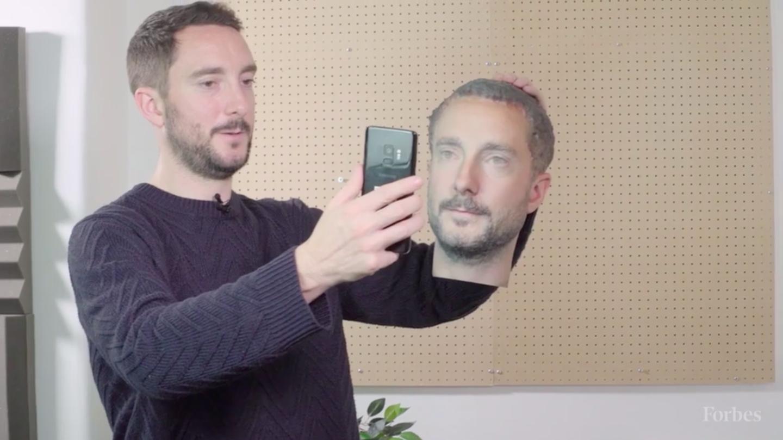 La reconnaissance faciale des smartphones Android dupée par un visage en 3D
