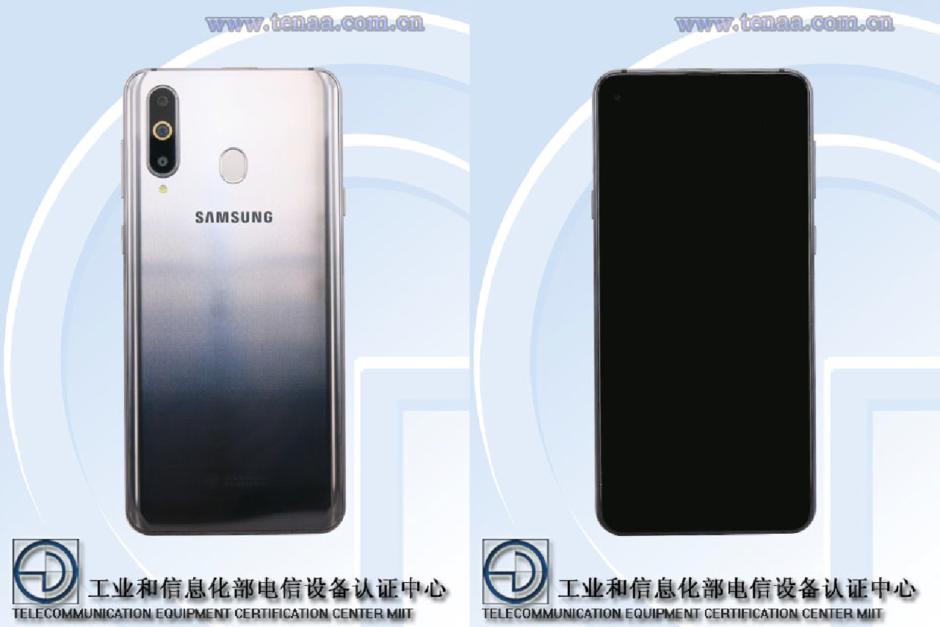 Galaxy A8s : le premier smartphone de Samsung avec écran Infinity-O se dévoile avant l'heure