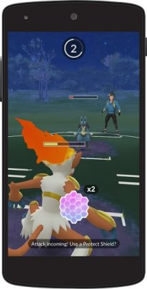 shield 214x420 - Pokemon Go : le mode Trainer Battles arrive sur un plateau