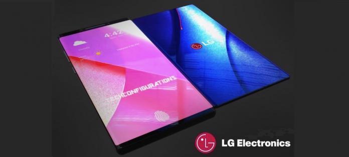 LG : un smartphone pliable pouvant capturer des images en 3D