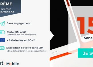 Forfait 40 Go de Cdiscount Mobile en promo