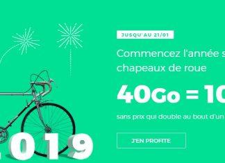 Forfait RED by SFR 40 Go à 10 euros