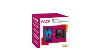 Pack Huawei P20 + Band 3 Pro + Folio