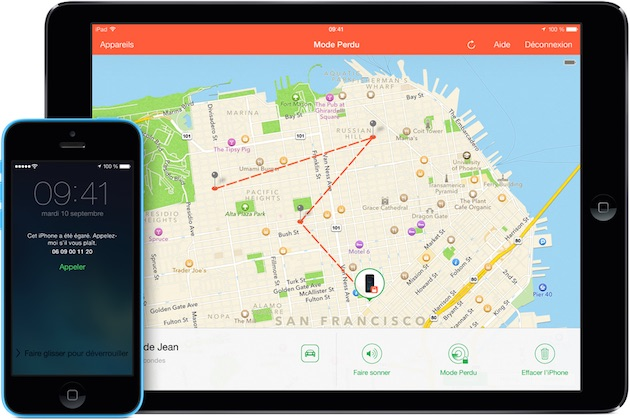 «Localiser mon iPhone» permet de retrouver une voiture volée