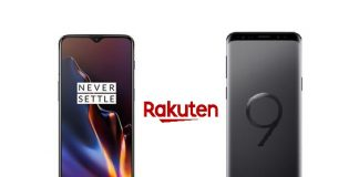 OnePlus 6T et Samsung Galaxy S9 en promo sur Rakuten