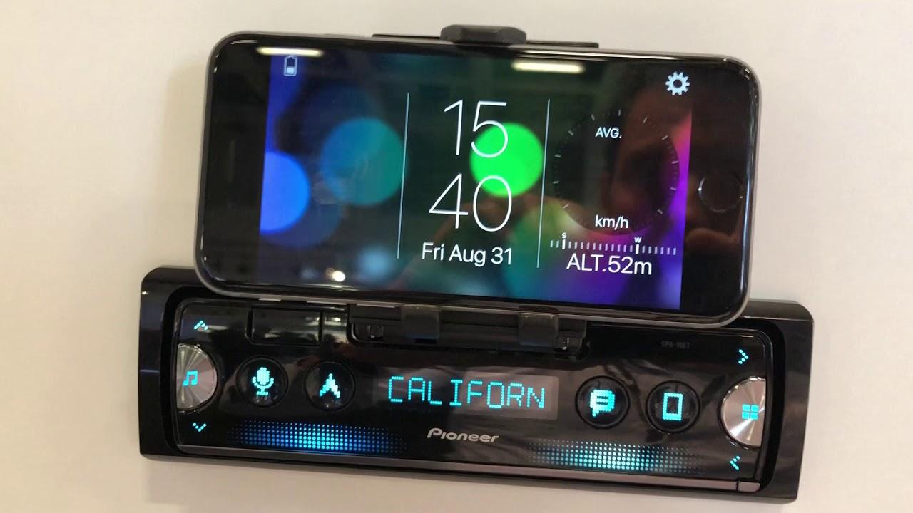 Pioneer SPH-10BT : quand votre smartphone devient un écran central pour voiture