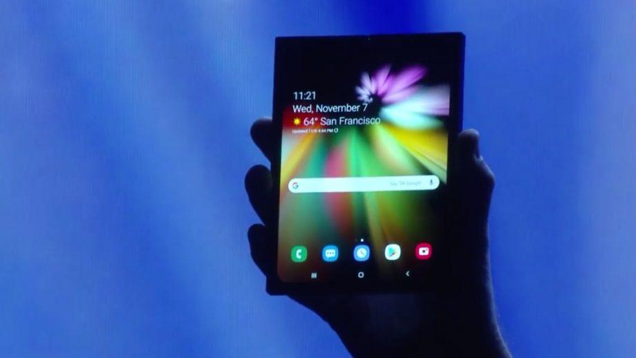 CES 2019 : quelques petits chanceux ont vu le Samsung Galaxy F !