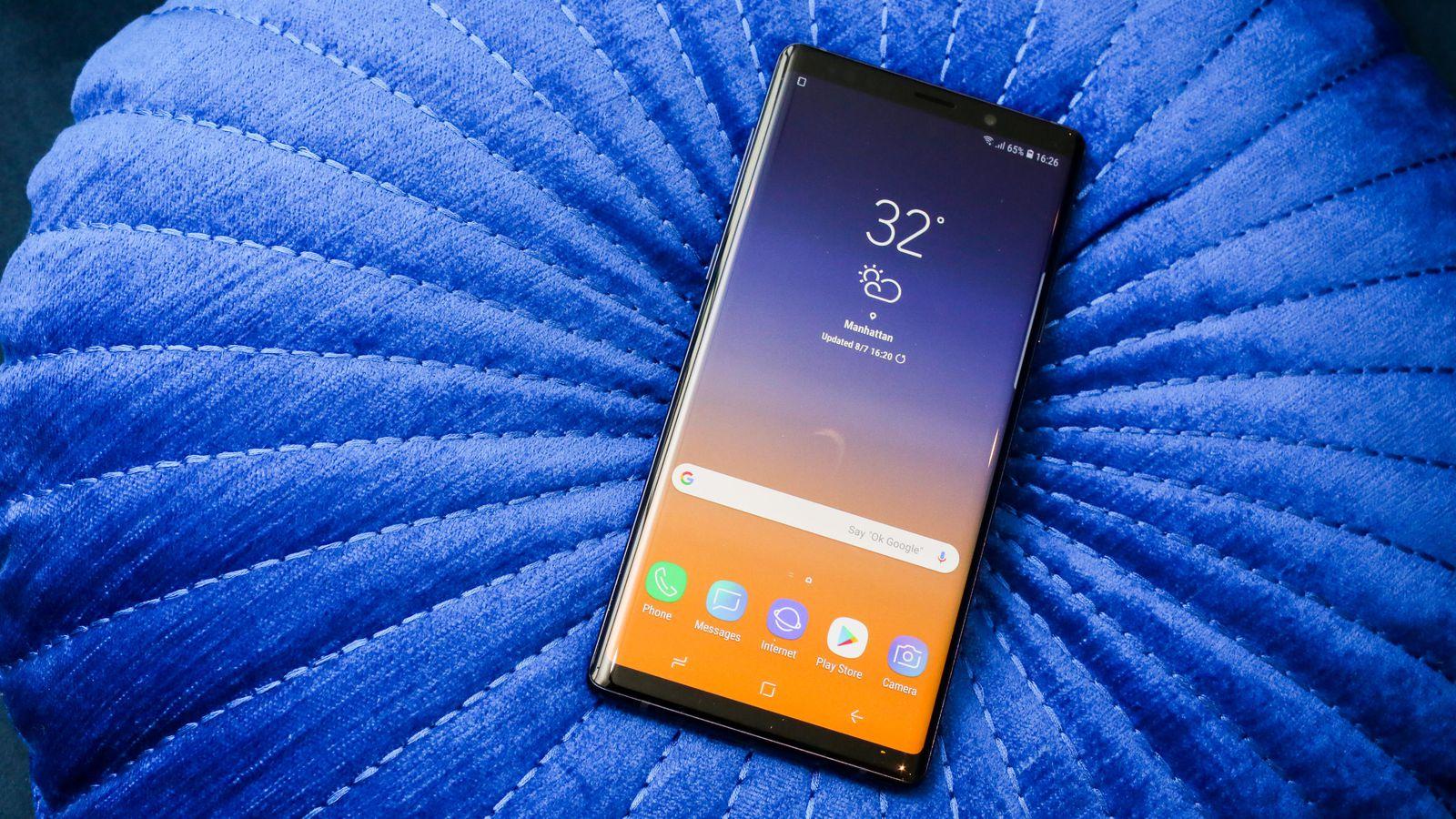 Le Galaxy Note 10 disposerait d'un écran de taille impressionnante